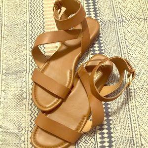 Franco Sarto flat sandals